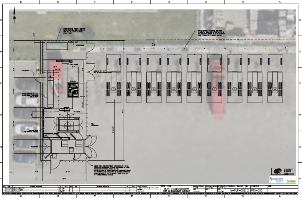 Typical Layout plan for a private refuelling station